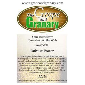 Robust Porter: All Grain