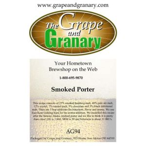Smoked Porter: All Grain