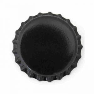 Crown Caps- Black- 1 Gross