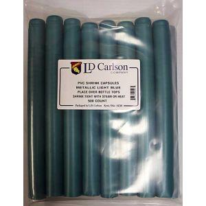 Capsule-Metalic  Light Blue 500 Count