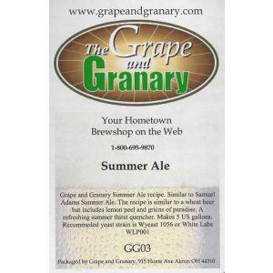 Summer Ale- G & G