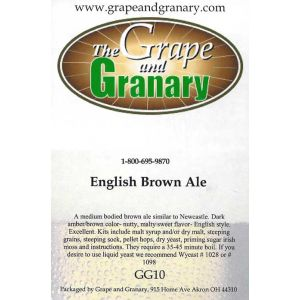 Brown Ale- G & G
