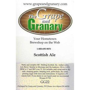 Scottish Ale Export 80 Shilling- G & G