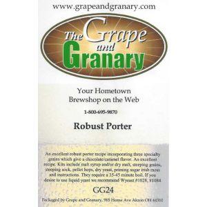 Porter- Robust G & G