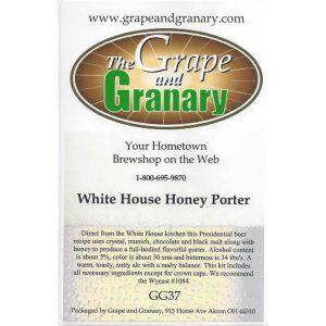 White House Honey Porter-GG