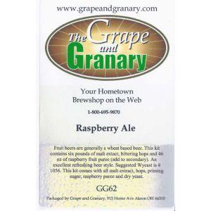 Fruit Ale- Raspberry