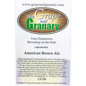 Brown Ale- American