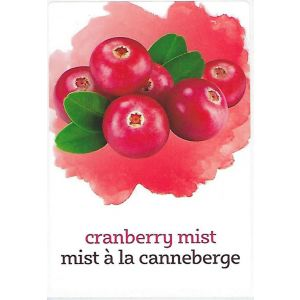 Cranberry Mist Label