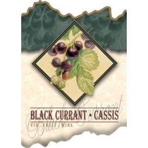 Black Currant Wine Label