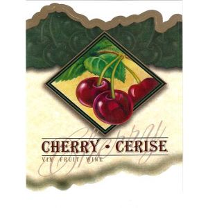 Cherry Wine Label