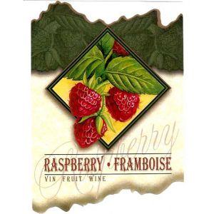 Raspberry Wine Label