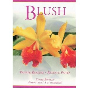 Blush- Wine Label