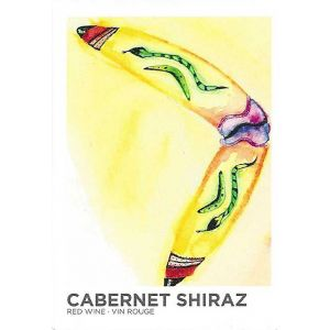 Cab/Shiraz- Wine Label