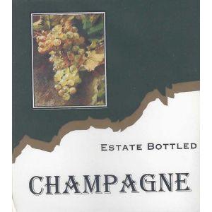 Champagne- Wine Label