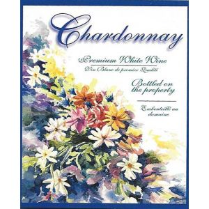 Chardonnay- Wine Label