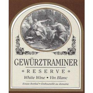 Gewurztraminer-Wine Label