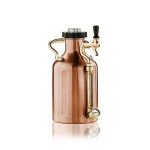 U Keg 64 oz Growler Copper
