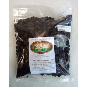 Oak Chips- American 1 lb-Heavy