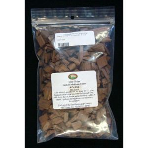 Oak Chips- French 4 oz