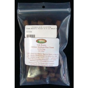 Oak Beans-Amer-2.5 oz Medium  Plus Toast