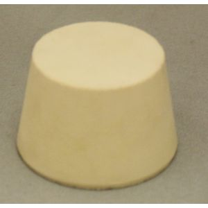 #7-1/2 Solid Rubber Stopper