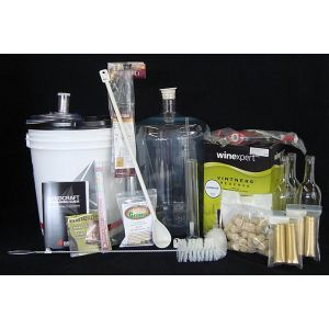 Wine Kit Equipment Package- Deluxe (White Wine)