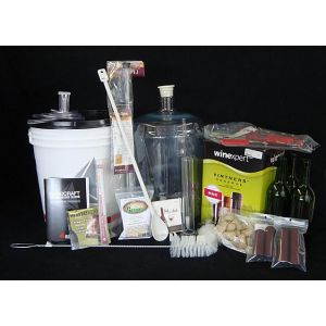 Wine Kit Equipment Package- Deluxe (Red Wine)