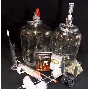 All Glass Beer Brewing Kit