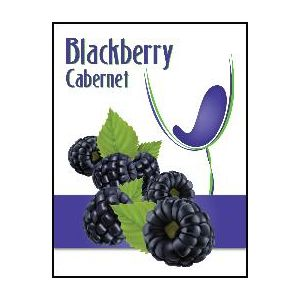 Blackberry Cabernet Label