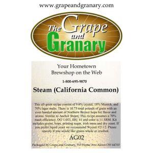 Steam Beer Kit: All Grain
