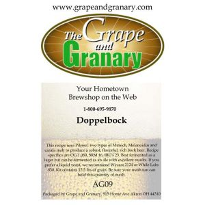 Doppel Bock: All Grain