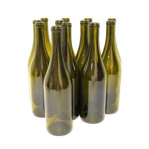 Wine Bottles: Burgundy 5th-Green 12/cs