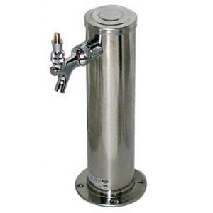 Faucet Tower- Single Stainless Steel