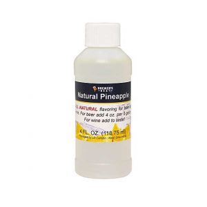 Pineapple Flavoring- 4 oz- Natural