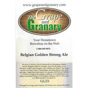 Belgian Golden Strong- G & G
