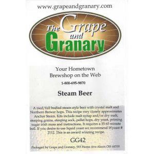 Steam Beer- G & G