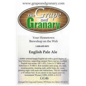 English Pale Ale- G & G