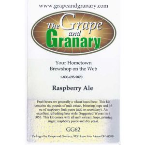 Fruit Ale- Raspberry