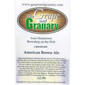 Brown Ale- American