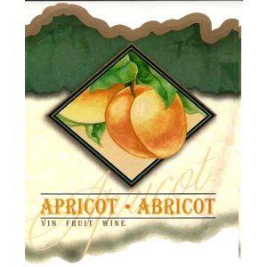 Apricot Wine Label