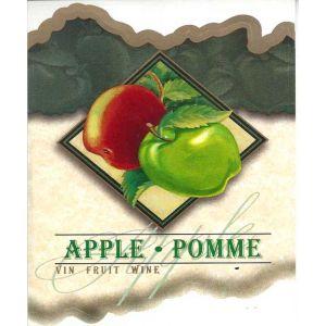 Apple Wine Label