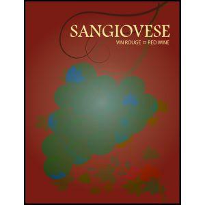 Sangiovese- Wine Label