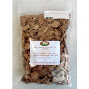 Oak Chips- Non Toast- 4 oz bag