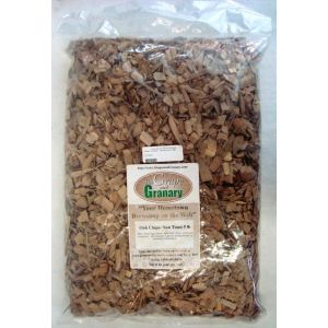 Oak Chips- American- Non Toasted 5 lb bag