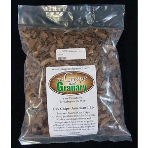 Oak Chips- American 1 lb.- Medium Toast