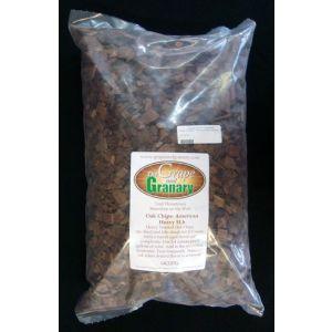 Oak Chips- American Medium Plus- 5#