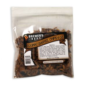 Cognac Barrel Chips- 4 oz Bag