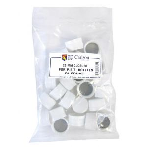 Plastic PET Caps- Bag of 24
